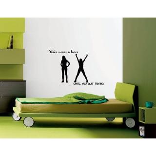 Wall Vinyl Art Sport Phrase Home Interior Sticker