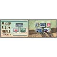 American Coin Treasures Eight Decades of U.S. Airmail Stamps