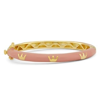 Junior Jewels Enamel Royal Crown Bangle