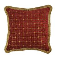 Sherry Kline Chenille Dots Luxury 20-inch Throw Pillow