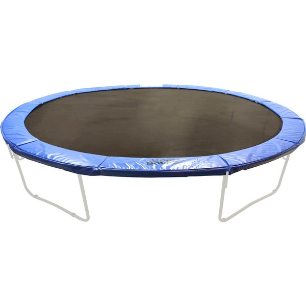 10 12 14ft Round Safety Frame Blue Pad Spring Pad: Super Trampoline Safety Pad And Spring Cover For 16-foot X