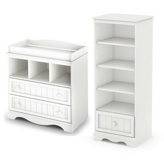 Savannah Changing Table and Shelving Unit