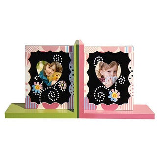 Adeco Decorative Child's Wooden Bookends (Set of 2)