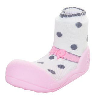 Attipas Infant Pink Ballet-style Shoes
