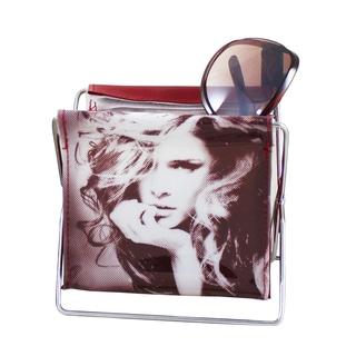 Jacki Design Burgundy Small Accessory Holder
