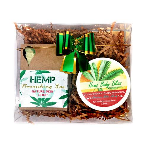 Handmade Rejuvenate Hemp Gift Set (Hemp Soap and Hemp Butter Bliss)