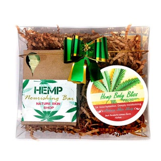 Link to Handmade Rejuvenate Hemp Gift Set Similar Items in Spa & Relaxation Baskets