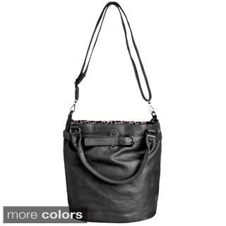 J. Furmani Women's Vegan Leather Tote Handbag