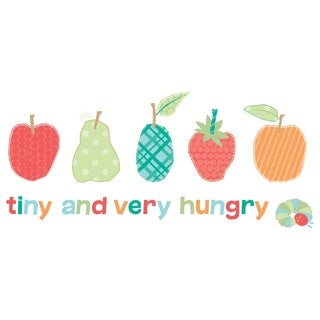Eric Carle The Very Hungry Caterpillar Character Art Tiny and The Very Hungry Canvas Print