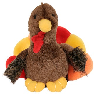 Multipet Look Who's Talking Turkey Toy