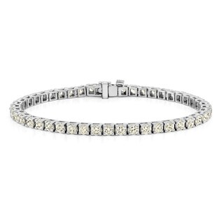 Auriya 14k Gold 1 1/2ct to 12ct TDW Diamond Tennis Bracelet (More options available)