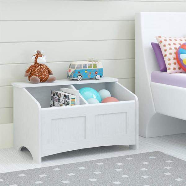 Ameriwood Home C Idy White Toy Chest