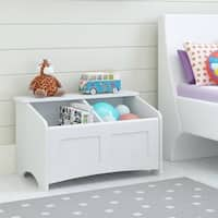 Ameriwood Home Cassidy White Toy Chest - N/A