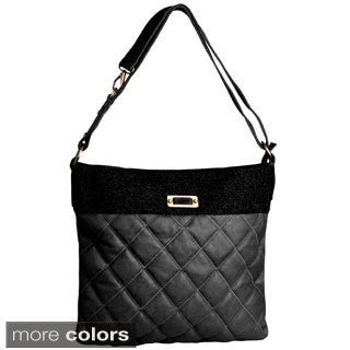 David Jones Women's Quilted Tote Handbag