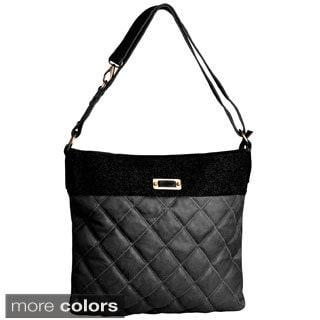David Jones Women's Quilted Tote Handbag