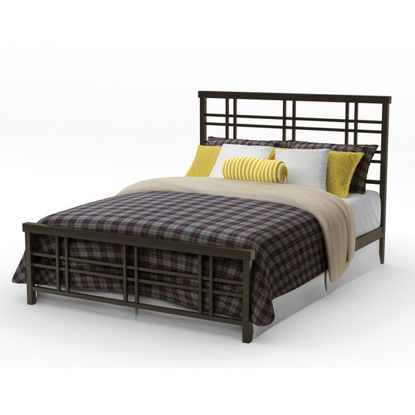 54 Best Images About Complete Bedroom Set Ups On Pinterest: Shop Amisco Heritage 54-inch Full Size Metal Rail Bed