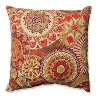 Pillow Perfect Indira Cardinal Throw Pillow