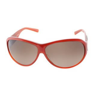 Fendi Women's 'FS 472M 639' Rusty Red Frame Grey Gradient Lens Sunglasses