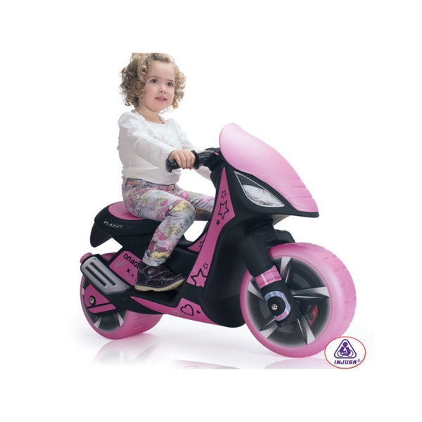 Injusa Dragon Scooter 6v Pink Ride On