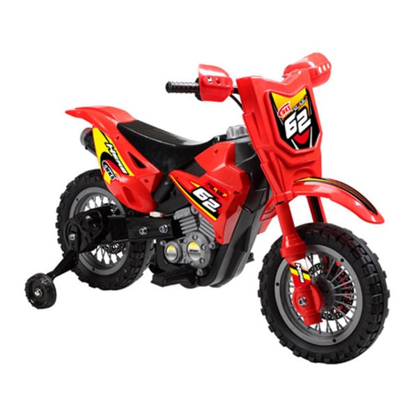 Mini Motos Dirt Bike 6v Red Ride On