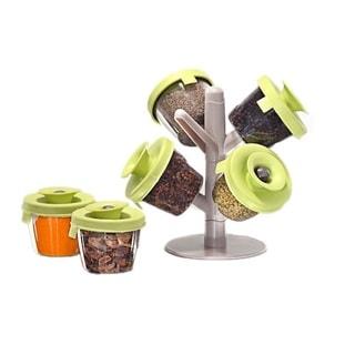 Sorbus Pop-up Spice Rack (Set of 6)