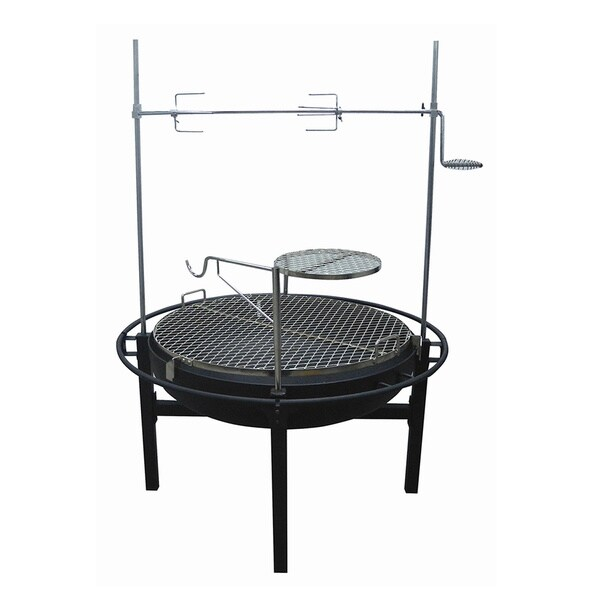 Smoke Canyon Ranchers Firepit And Grill Free Shipping Today