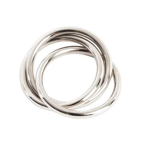 Three Rings Design Napkin Rings (Set of 4)