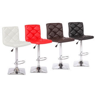 Rio Adjustable Swivel Bar Stool (Set of 2)