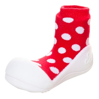 Attipas Toddler's Red Polka Dot Shoes
