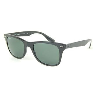 Ray-Ban Unisex RB4195 Liteforce 601/71 Black Wayfarer Plastic Sunglasses