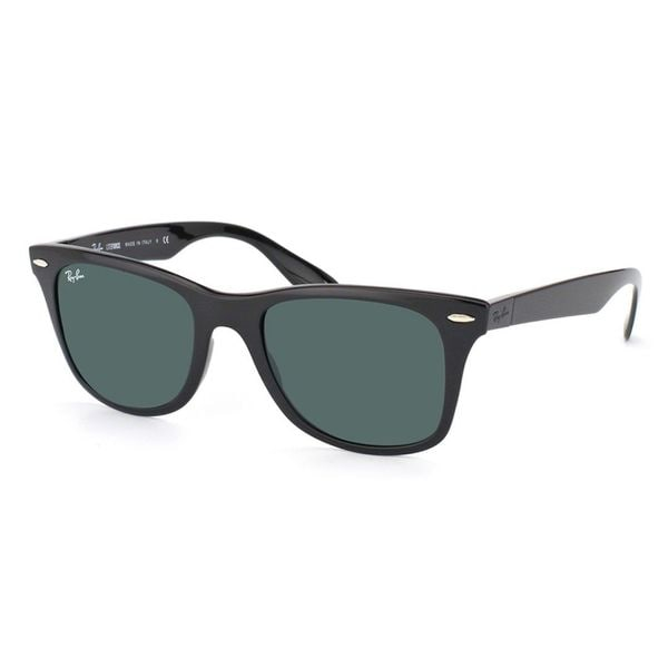 08435ab875f Ray-Ban Unisex RB4195 Liteforce 601 71 Black Wayfarer Plastic Sunglasses