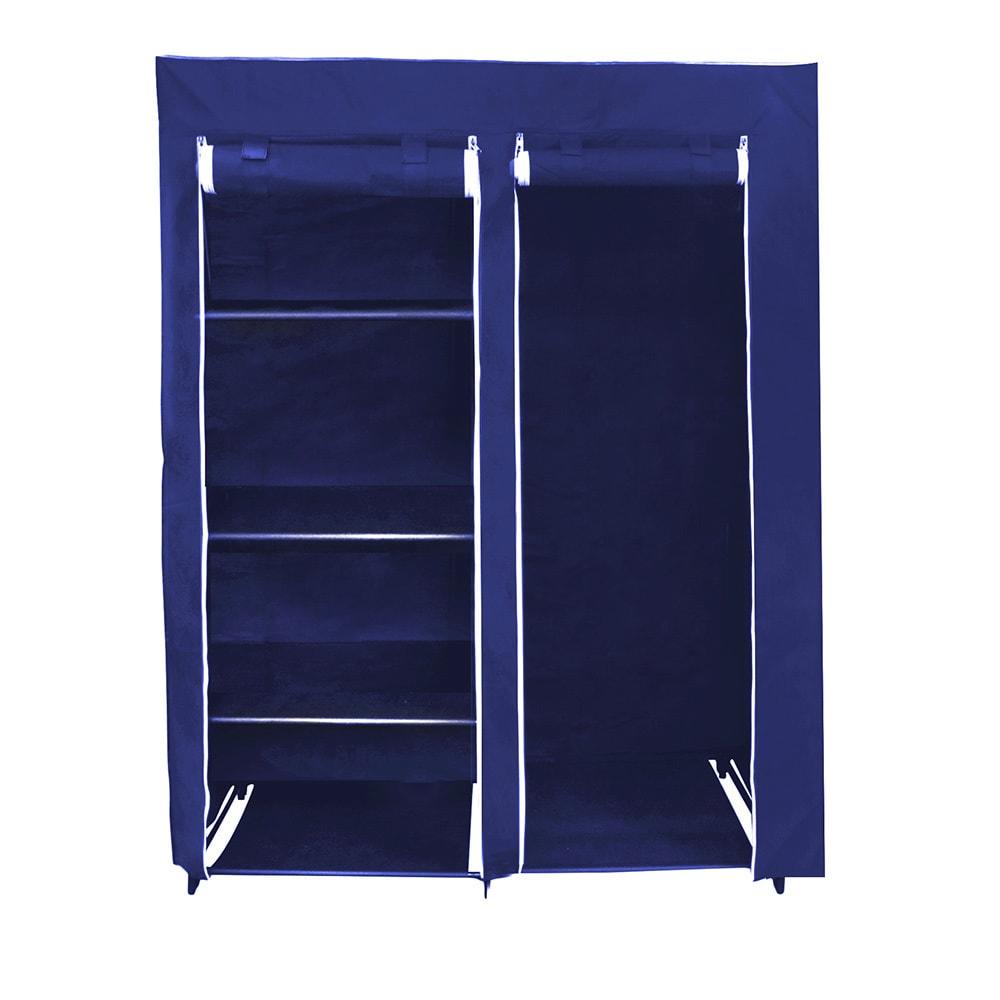 Florida Brands 62 Portable Wardrobe Closet with 4-shelves...