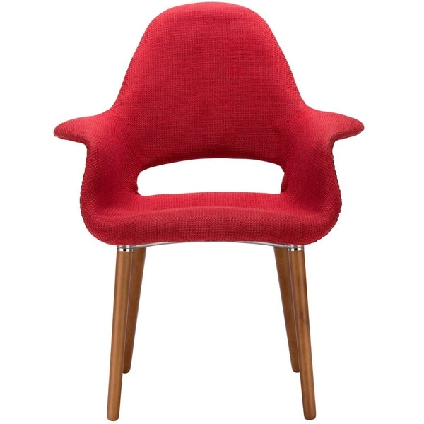 poly and bark the barclay organic style dining arm chair - free