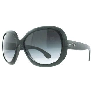35247bf0058 Ray-Ban Jackie Ohh ll RB4098 Women s Black Frame Grey Lens Sunglasses