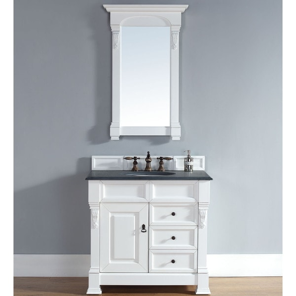 brookfield cottage 36 inch single cabinet 2 drawer vanity free