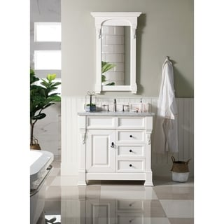 Brookfield Cottage 36-inch Single Cabinet 2-drawer Vanity