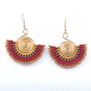 Handmade Bohemain Earrings (Thailand)