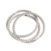 Eternity Design Napkin Rings (Set of 4)