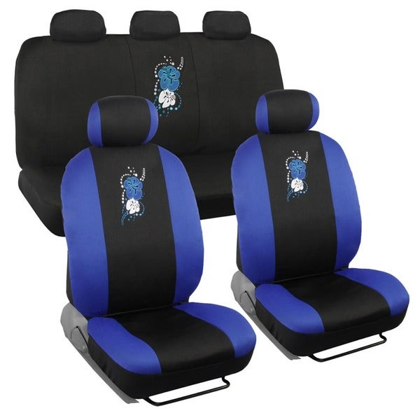 Shop BDK Hawaiian Design Car Seat Covers Full Set
