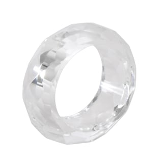 Crystal Napkin Ring (Set of 4)