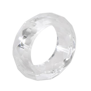 Crystal Napkin Ring (Set of 4) (Option: Clear)