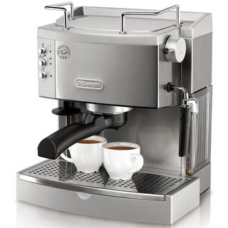 Link to DeLonghi 15-bar Pump Stainless Steel Espresso Maker Similar Items in Kitchen Appliances