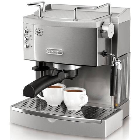 DeLonghi 15-bar Pump Stainless Steel Espresso Maker