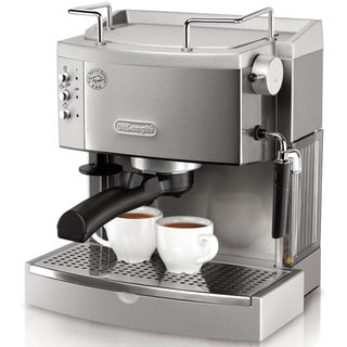 DeLonghi 15-Bar-Pump Stainless Steel Espresso Maker