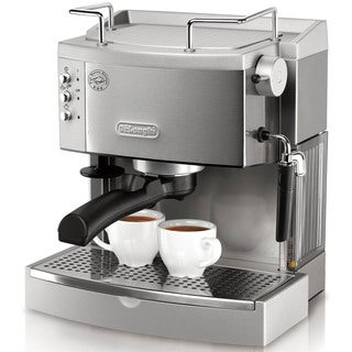 DeLonghi 15-bar Pump Stainless Steel Espresso Maker