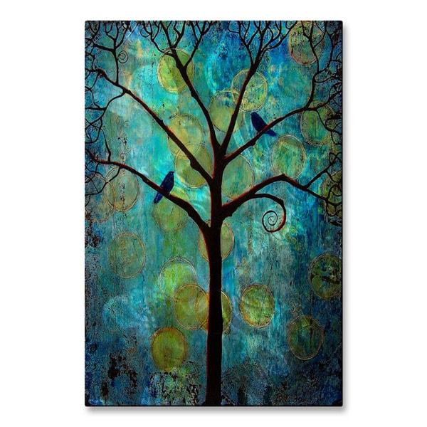 Blenda Tyvoll 'Twilight Tree' Metal Wall Sculpture