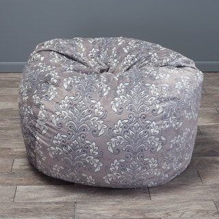 Christopher Knight Home Riley Faux Suede 3-foot Whimsical Lounge Beanbag Chair