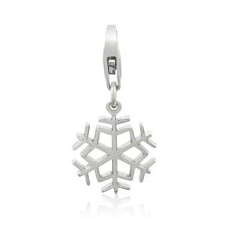 Gioelli Sterling Silver Snowflake Charm