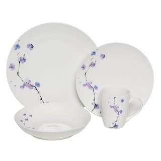 Melange Purple Zen 32-piece Premium Porcelain Dinnerware Set|https://ak1.ostkcdn.com/images/products/9633345/P16818550.jpg?impolicy=medium