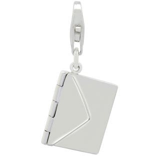 Gioelli Sterling Silver Love Letter Charm